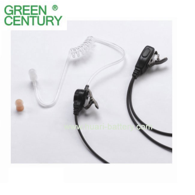 walkie talkie acoustic tube earpiece headset HRE-1040Y for VX-160 radios