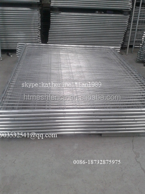 Iso9001standard Hot Dipped Galvanized Temporary Fence (professional Factory In China