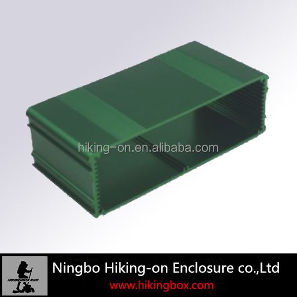 high quality natural anodized 6000 series extruded aluminum electronic PCB enclosures