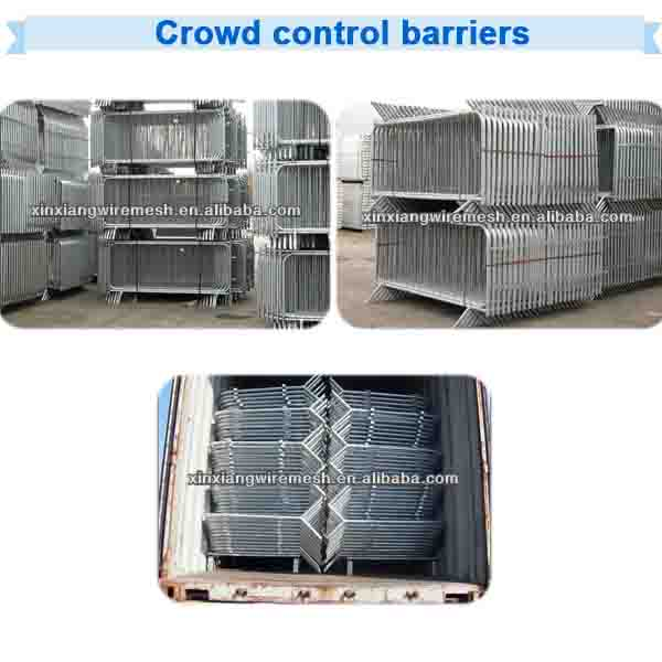 2014 Electro,/Hot-dipped Galvanized Pedestrian Tube Crowd Control Barriers