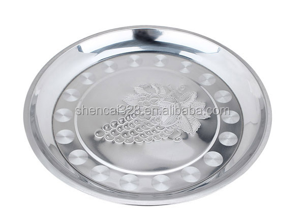 Hot Sale High Quality Round Stainless Steel Food Dishes