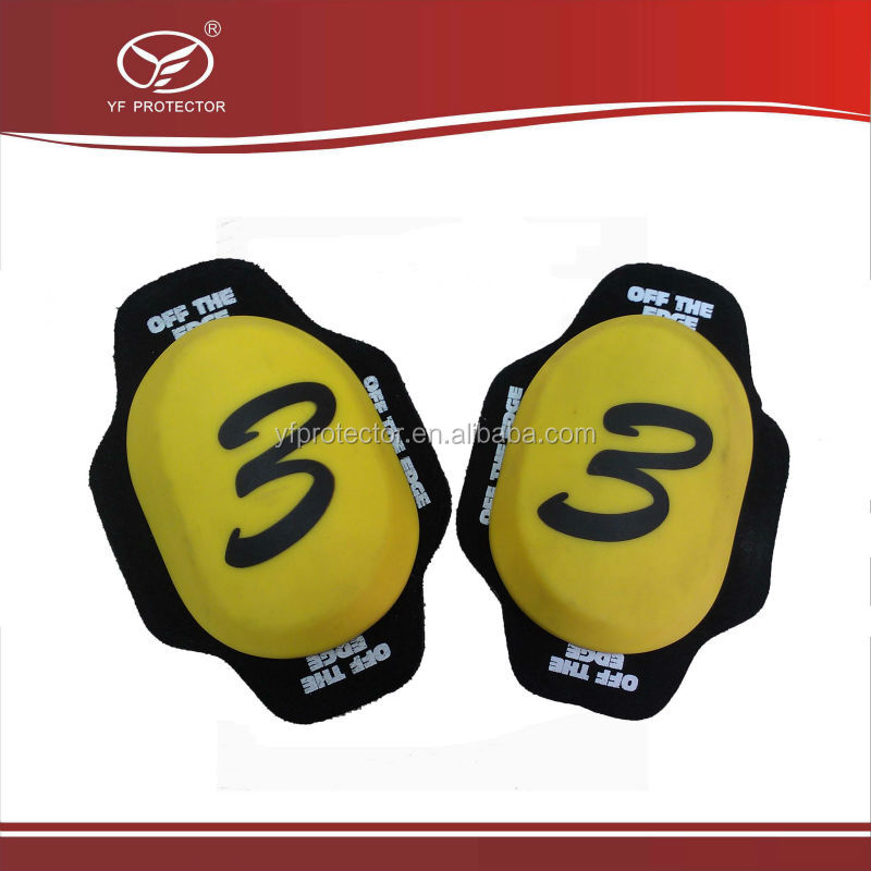 Motorcycle slider knee racing Safety Protector Removable Velcro Knee Sliders