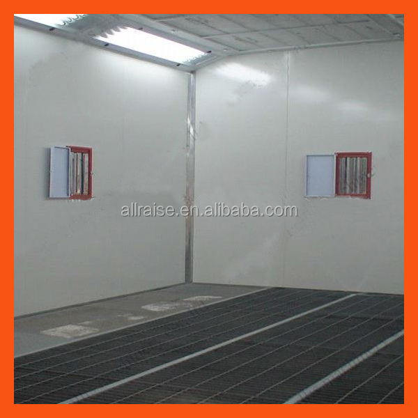 how to build a spray booth for spraying cars