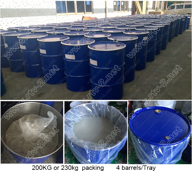rtv2 liquid rubber for molds high temp silicone rubber