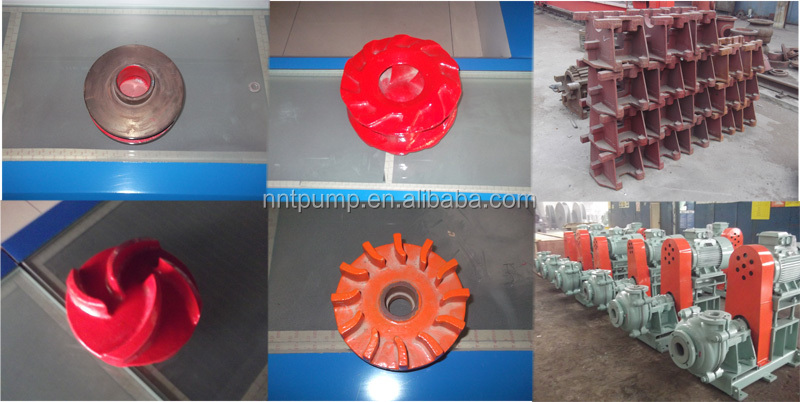 Gasoline centrifugal pump Slurry Pump Spare Parts