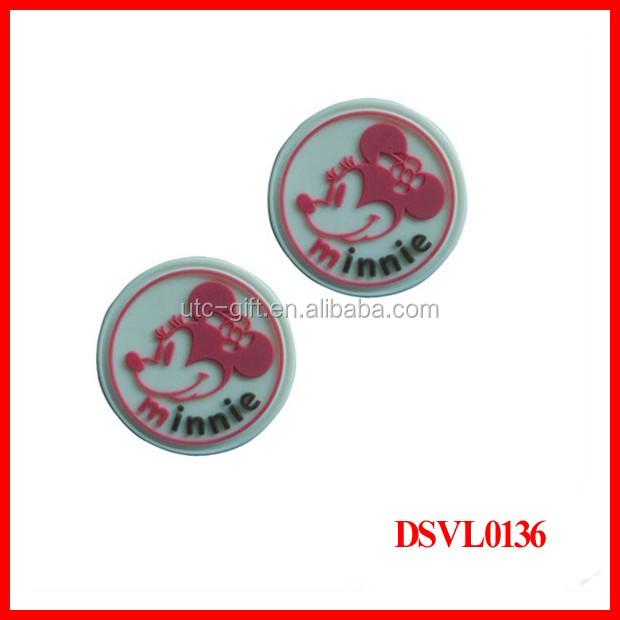 Wholesale custom t shirt labels handbag tags rubber label for T shirt tags wholesale