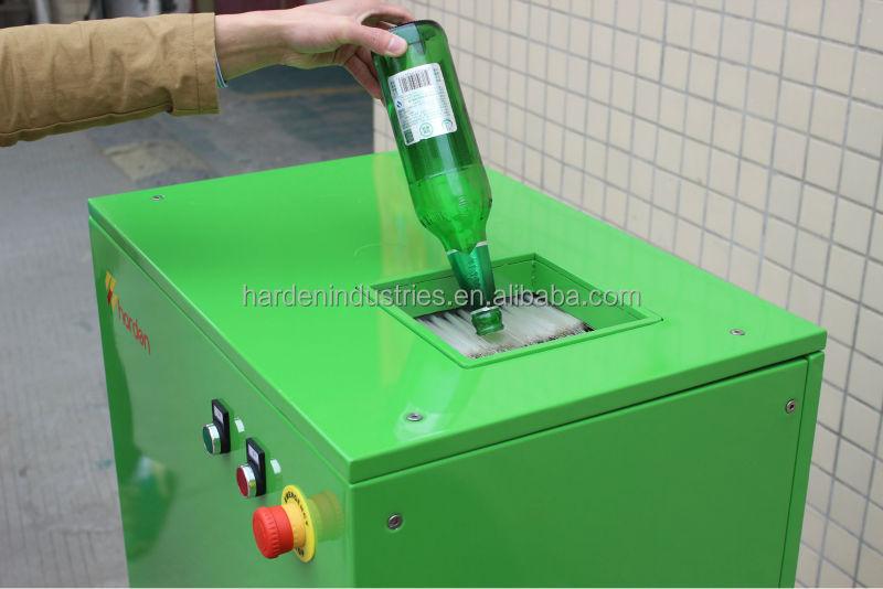 Glass bottle crusher buy glass bottle crusher glass for Water triturador
