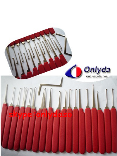 LISHI 20 PIN LOCKPICK (CAN OPEN MOST CAR LOCK AND HOUSE LOCK)---MADE BY LISHI TO MATCH WITH locksmith tools free shipping