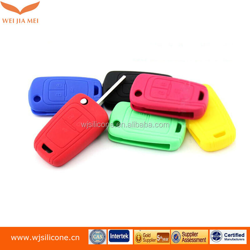 OEM key cover / silicone car key case with different color