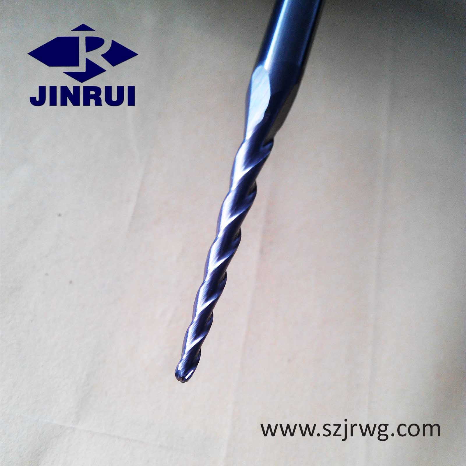 Solid Carbide tapered wood drill bits for wood