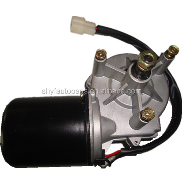 12V 60W Wiper Motor with Left Hand Gear Box Strong Wiper Motors