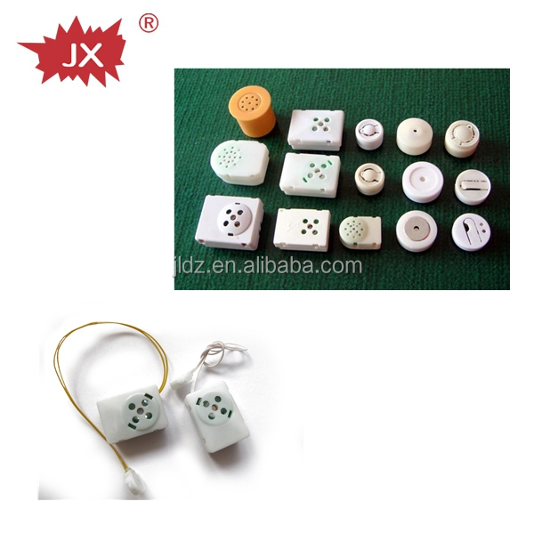 Small button sound modules for a small plush toy with customized size color