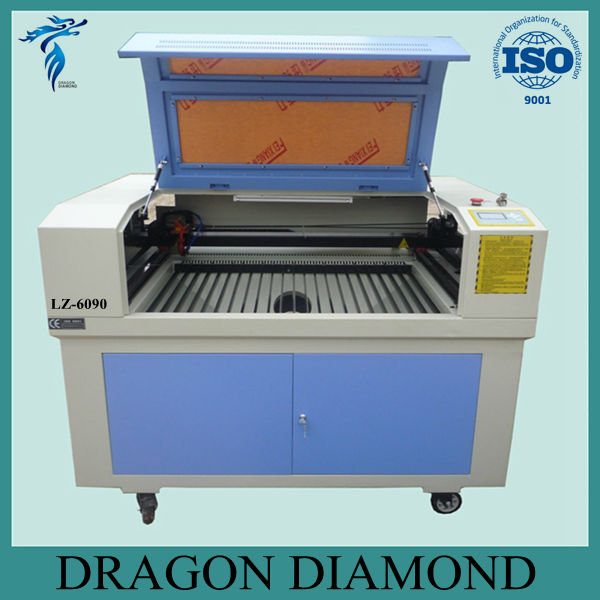 cheap laser engraving machine 600*900mm/acrylic laser engraving cutting machine for sale LZ-6090