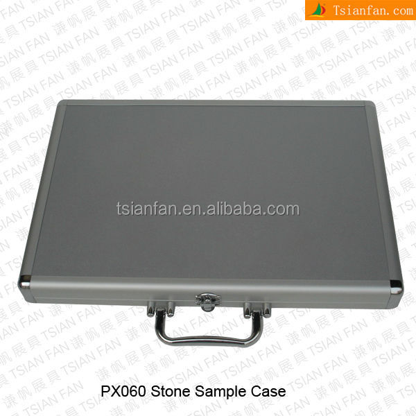 Stone Sample Display Suitcase-PX060