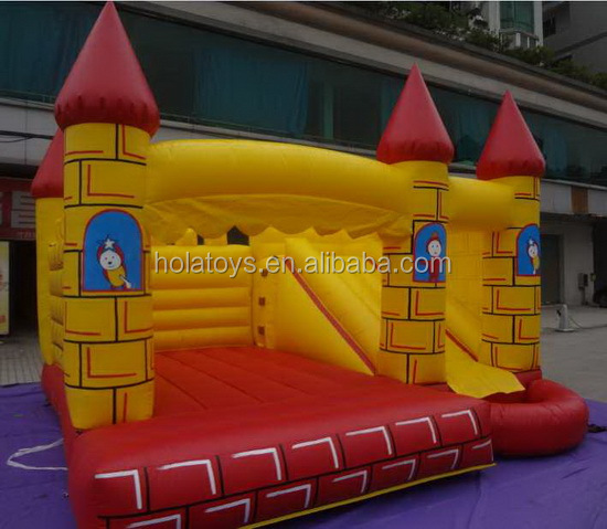 HOLA bouncy castles/used commercial inflatable bouncers for sale