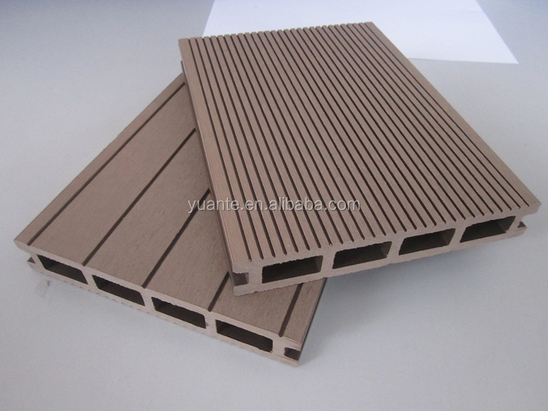 150*25mm Hollow Outdoor WPC Board /Wood Plastic Composite Decking