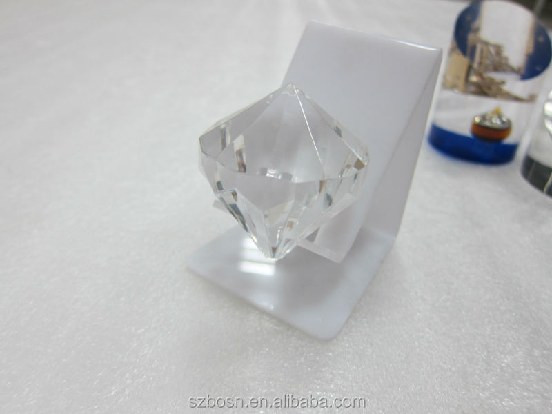 Diamond design Acrylic/Resin/ Lucite Paperweight