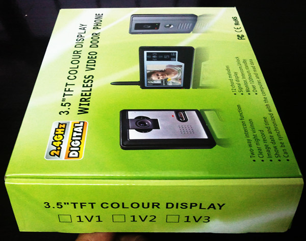 3.5 inch LCD color video door phone system for villa