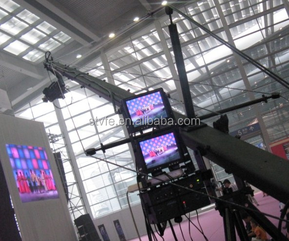 Jimmy jib crane for Video and film camera