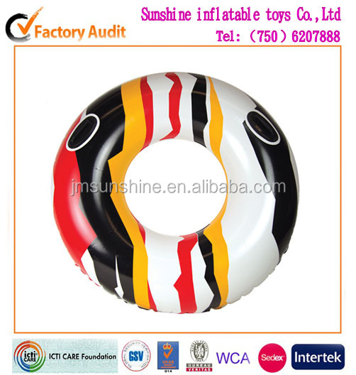 inflatable PVC air swim ring for water slide