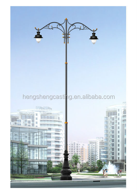 Algiers cast iron tapered outdoor light pole street lamp post algiers cast iron tapered outdoor light pole street lamp post view cast iron lamp post hs product details from botou hengsheng crafts casting co mozeypictures Gallery