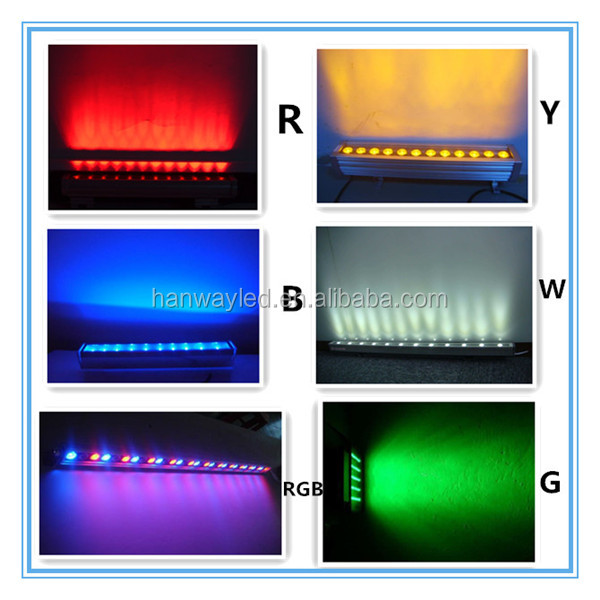 36W led wall washer light