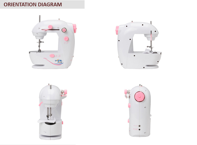 domestic mini hand stitch sewing machine UFR-0307