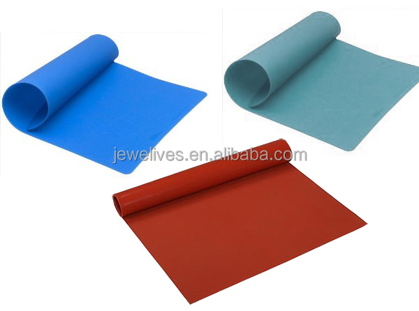 reusable fda grade non-stick baking mat, non stick baking mat, silicone rubber baking oven mat