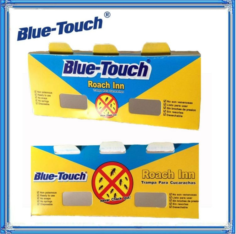 New Brand Blue-Magic kill cockroach Cardboard cockroach Non-poison cockroach glue trap