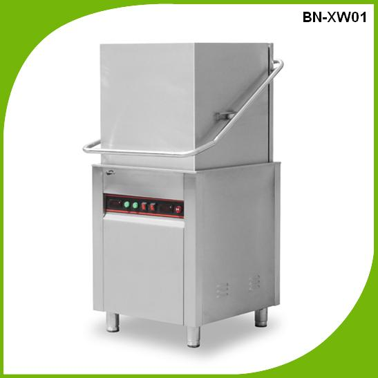 BN-XWS01+H automatic dish washing machine for restaurant/industrial dishwasher