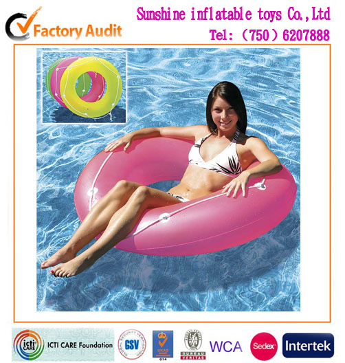 colorful Inflatable Swimming Ring for children
