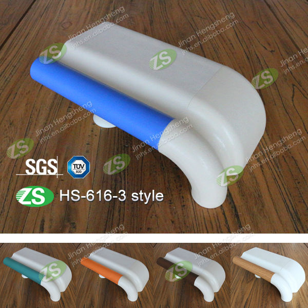 handrail and wall guard for hospital