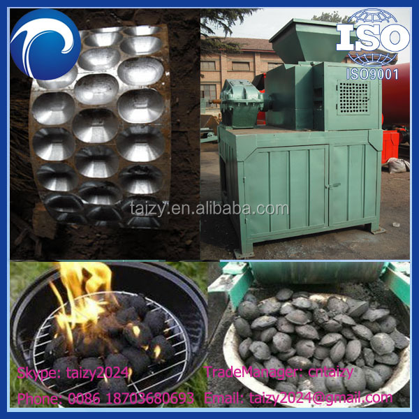 Environmental-friendly charcoal ball pressing machine
