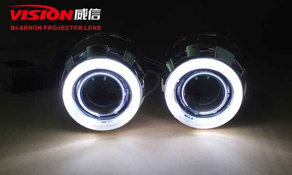 Bi-xenon Projector Lens with ccfl Angel Eyes & Devil Eyes G260 2.5""