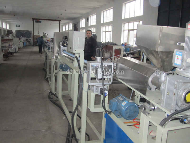 Swimming bath cleaner pipe produce machine