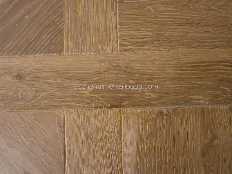 Rustic Oak Wood Versailles Parquet Wood flooring versailles parquet panel (wood species can be changed)