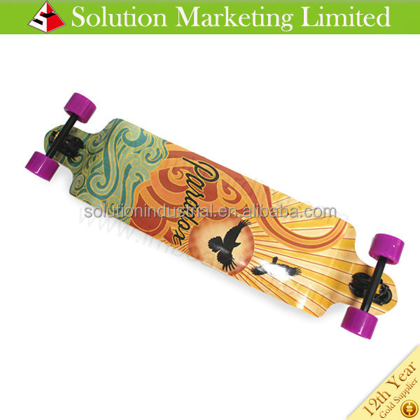 High Quality Factory Price Longboard 9 Plys Maple Deck Longboard
