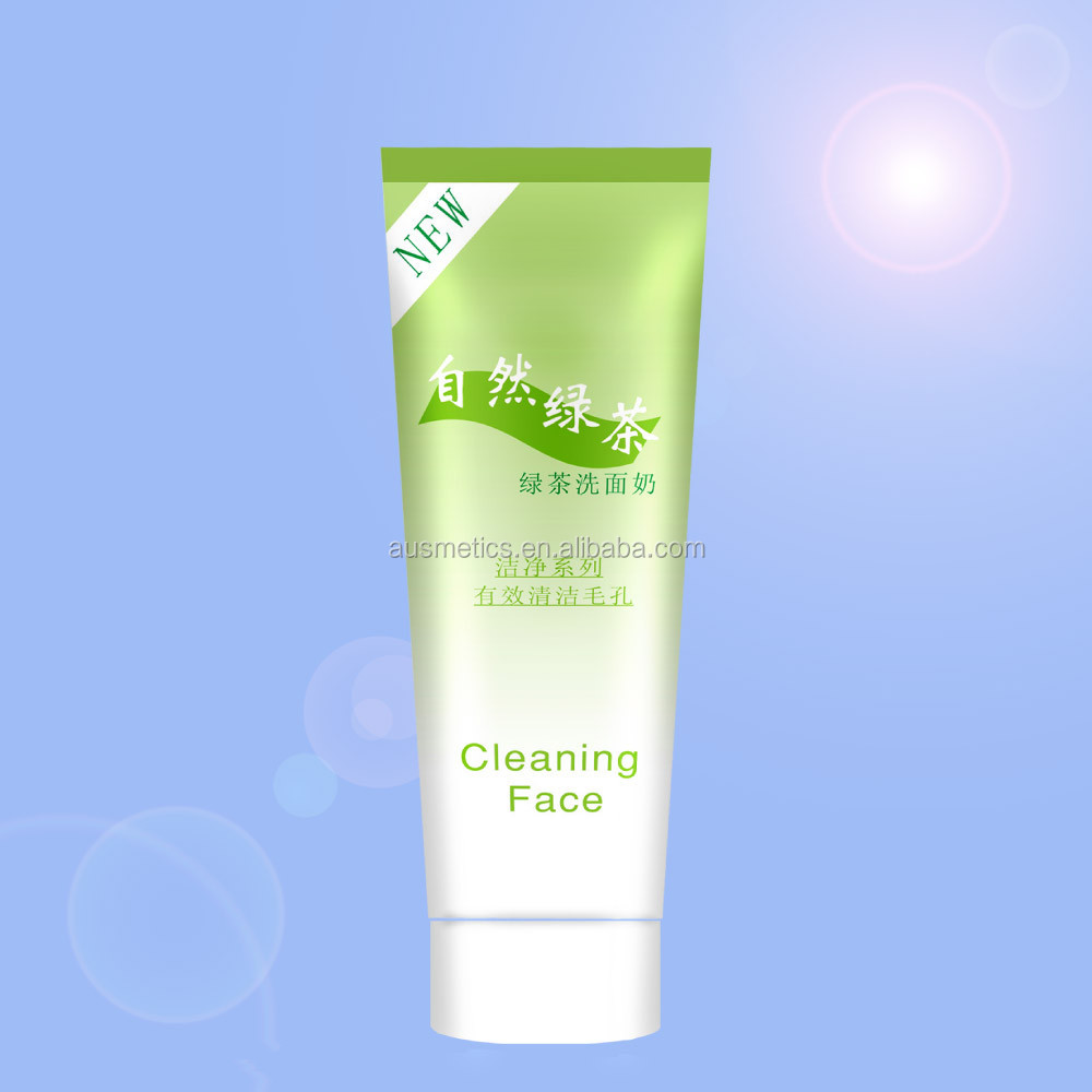 Green Tea Face Cleansing