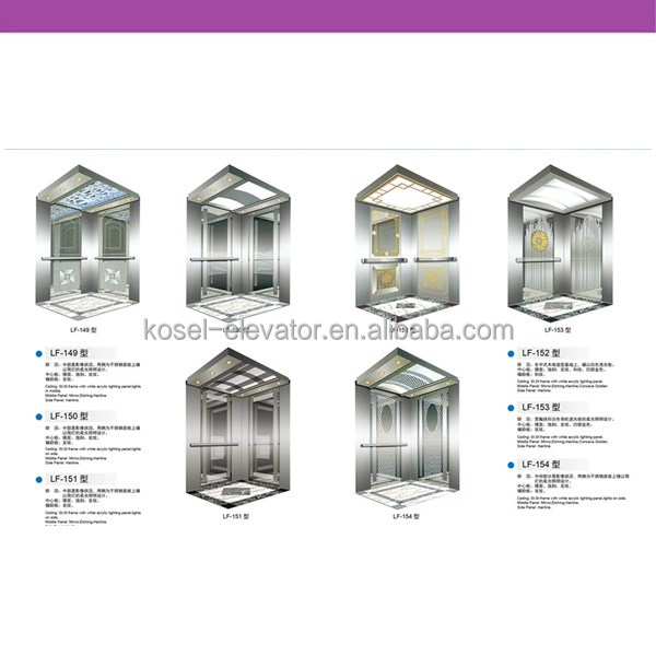 Small home elevator manufacturers stainless lift cabin for Small elevators for homes