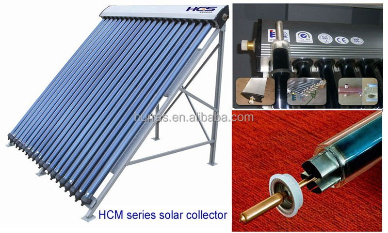 Solar thermal evacuated solar collector tubes