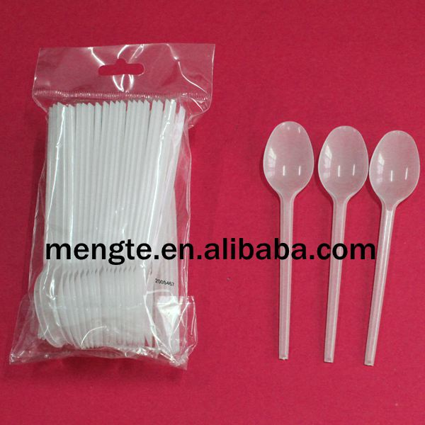 Yiwu High quality White Disposable Plastic Spoon