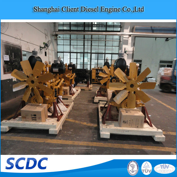 Hotsale And Quickly Delivery Shangchai C6121 engine
