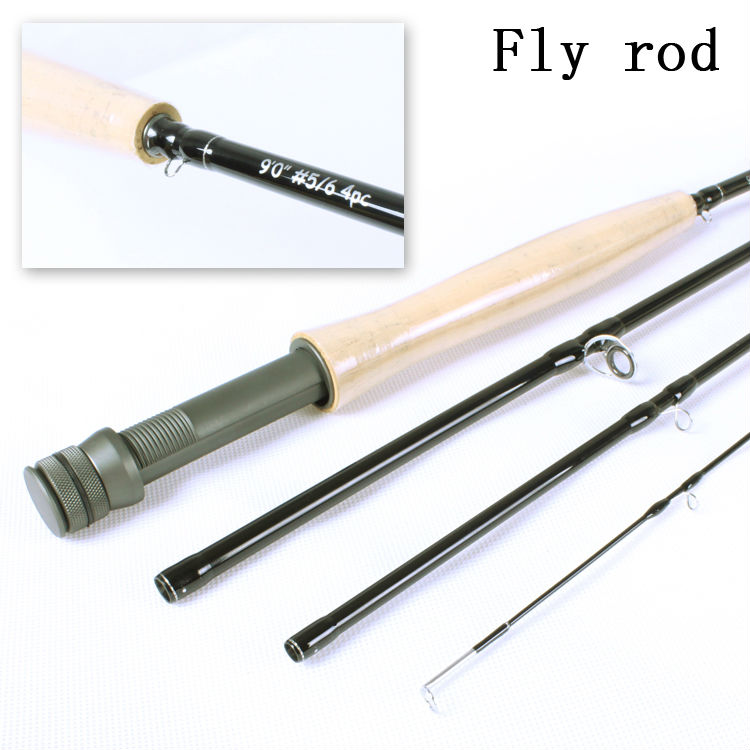 Best price and high quality starter carbon fly rod view for Fishing rod price