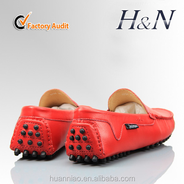 High quality leather men mocs