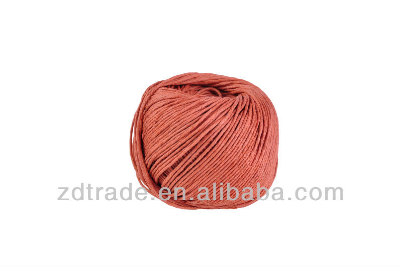 Jinhua 66 Yards Multi Color Dyed 100% Colored Waxed Cord Hemp Ball for DIY crafts