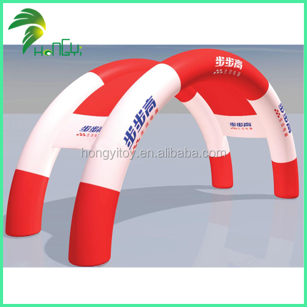 Cheap Red Inflatable Arch Tent Inflatable Twins Arch For Sale