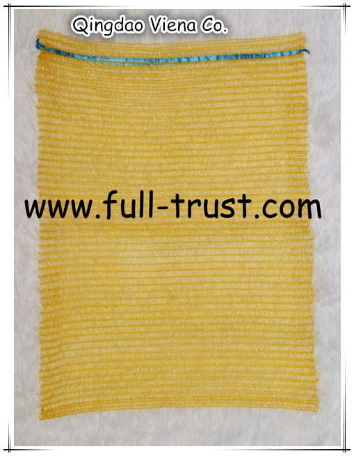 knitted Raschel mesh bag