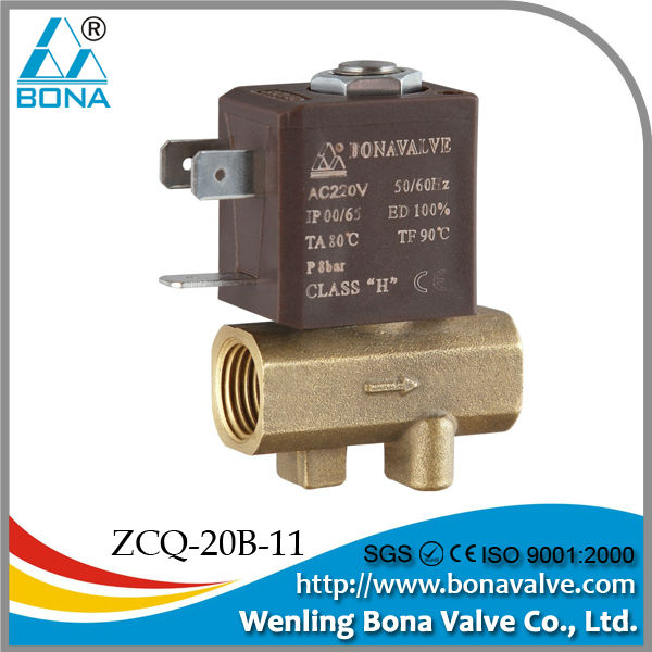 Air Co2 welding machine air solenoid valve 24v ZCQ-06B