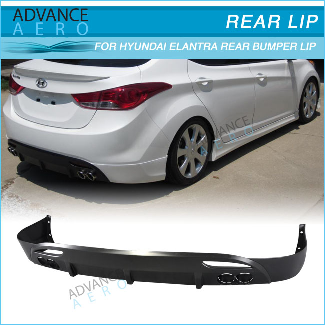 For 11 13 Hyundai Elantra Avante Md 4d Oe Style Pp Lower