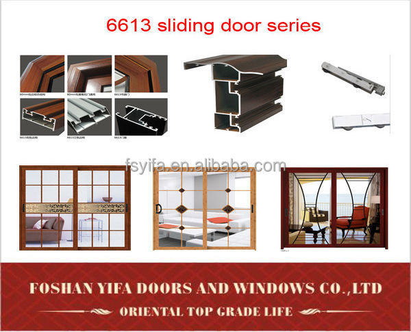 cheap aluminum balcony exterior large sliding glass door